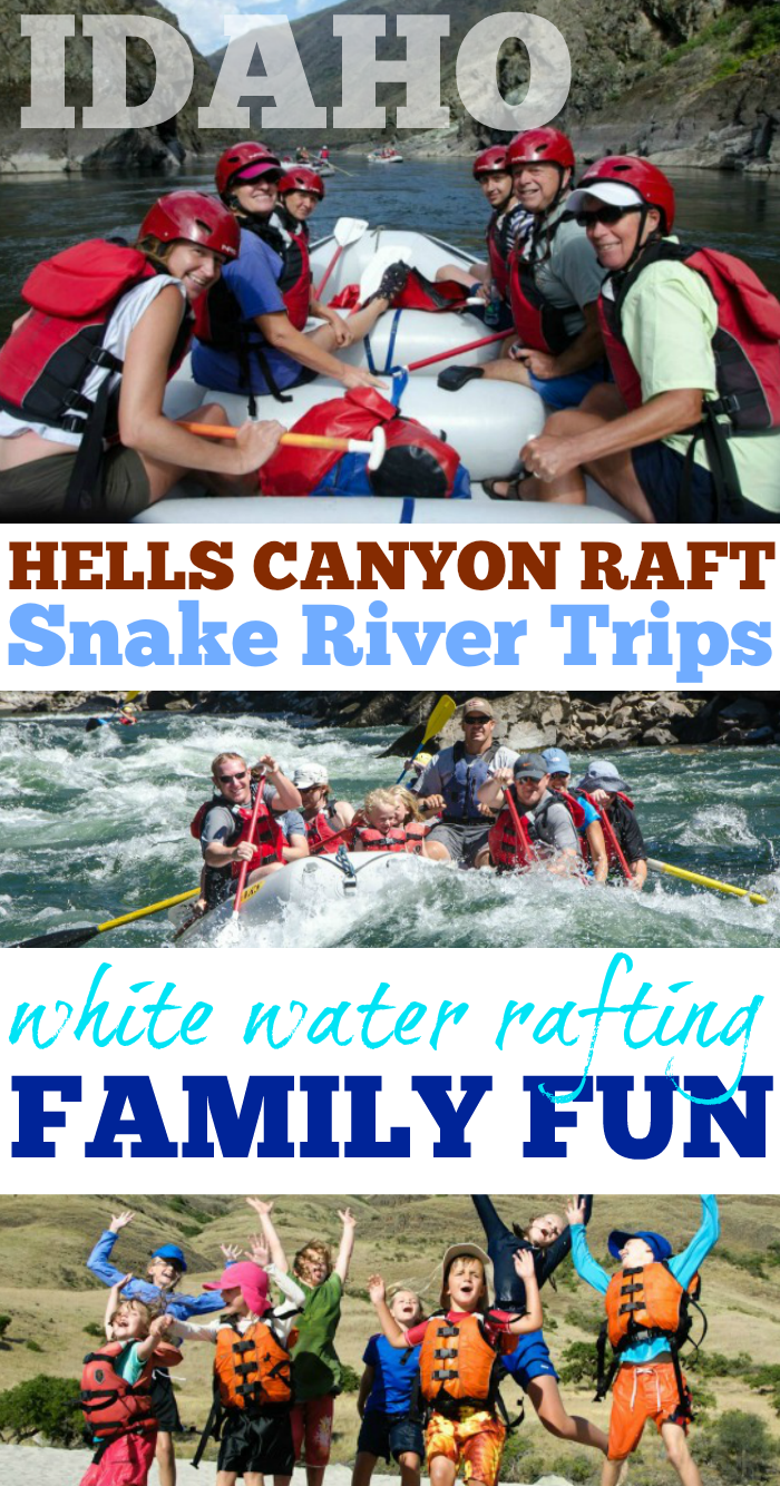 Hells Canyon Raft Idaho Whitewater Rafting Trips for the Family
