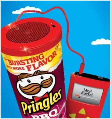 Winner, Winner, WINesday #1: Pringles Speaker Can Gift Package Giveaway!