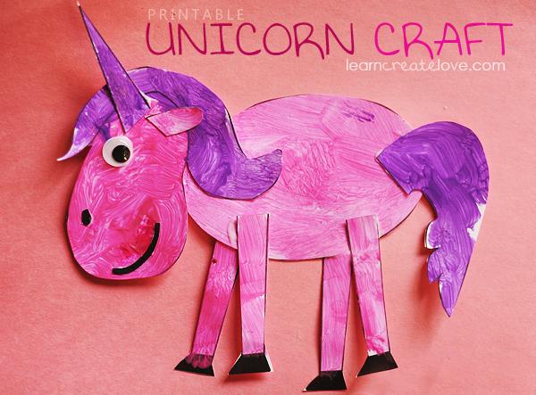 Free Printable Unicorn Craft Shesaved