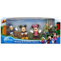 Donald Duck, Mickey, Minnie Mouse, and Goofy Figure Set for $8.50 Shipped