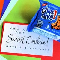 Free Lunchbox Printable: One Smart Cookie