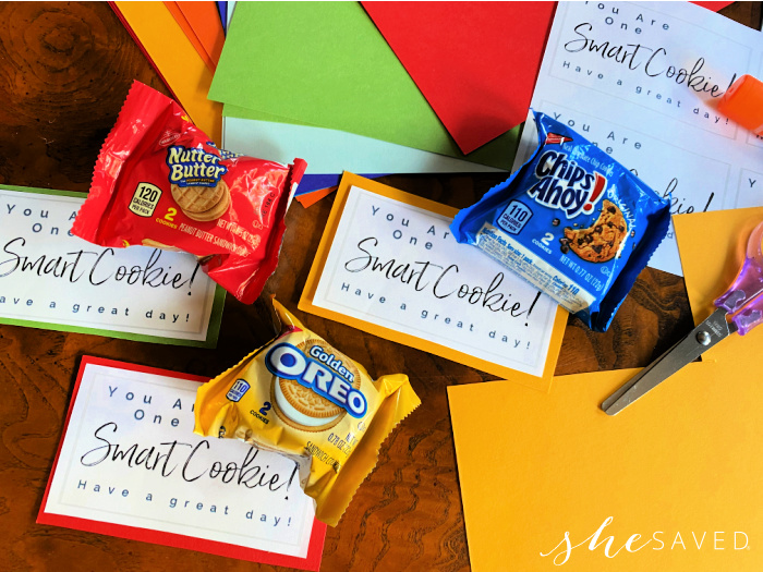 FREE Smart Cookie Printable Lunchbox Notes