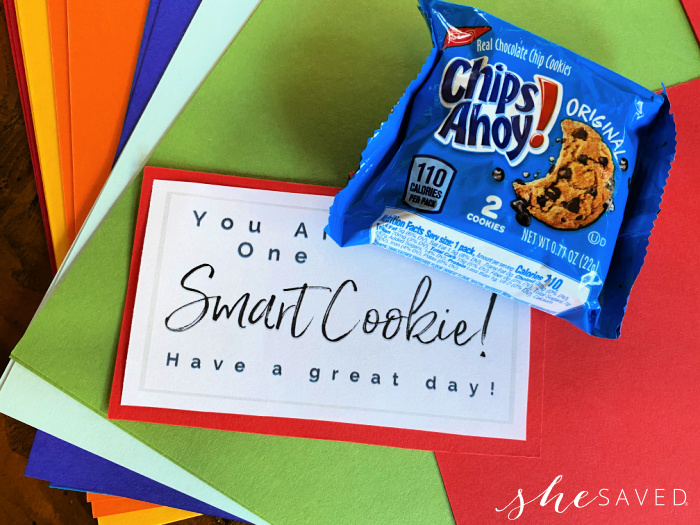 FREE Smart Cookie Printable lunchbox note for kids