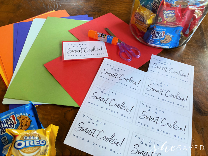 Smart Cookie Printable Lunchbox note to give kids in their lunch!