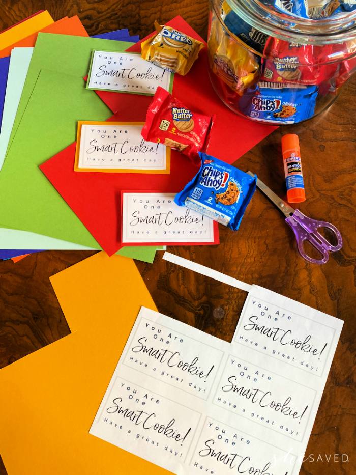 Smart Cookie Printable Note for Kids