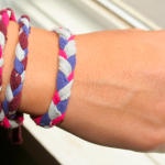 She's Creative! Guest Post | Tee Shirt Bracelets
