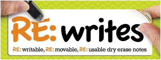 Winner, Winner, WINesday #2: RE:writes Review and Back to School Gift Package Giveaway