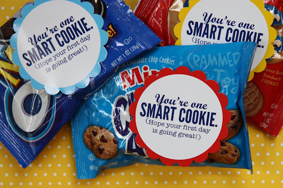 graphic relating to You're One Smart Cookie Printable referred to as Absolutely free Lunchbox Printable: 1 Wise Cookie - SheSaved®