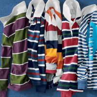 Lands End | $10 OFF ALL BOYS' RUGBYS + FREE shipping + 3% Cash Back