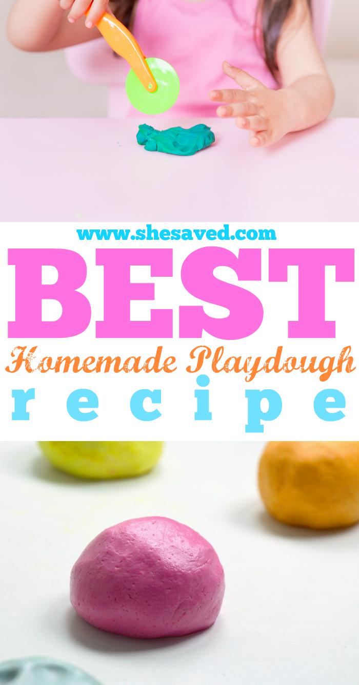 Best Homemade Play Dough Recipe
