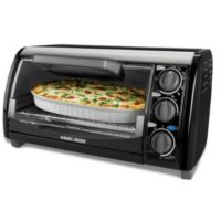 Black & Decker 1200-Watt 4-Slice Countertop Toaster Oven for $19.99 Shipped