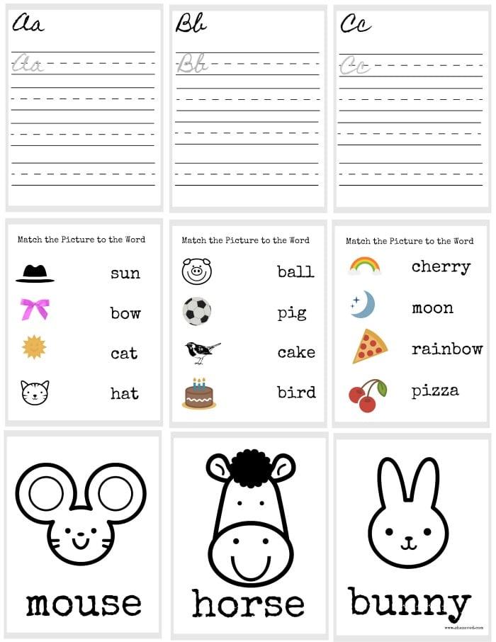 FREE Doll Printable School Worksheets - SheSaved®