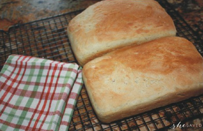 Homemade Easy Bread Recipe