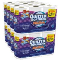 Quilted Northern 48 Double Rolls for $22.74 Shipped