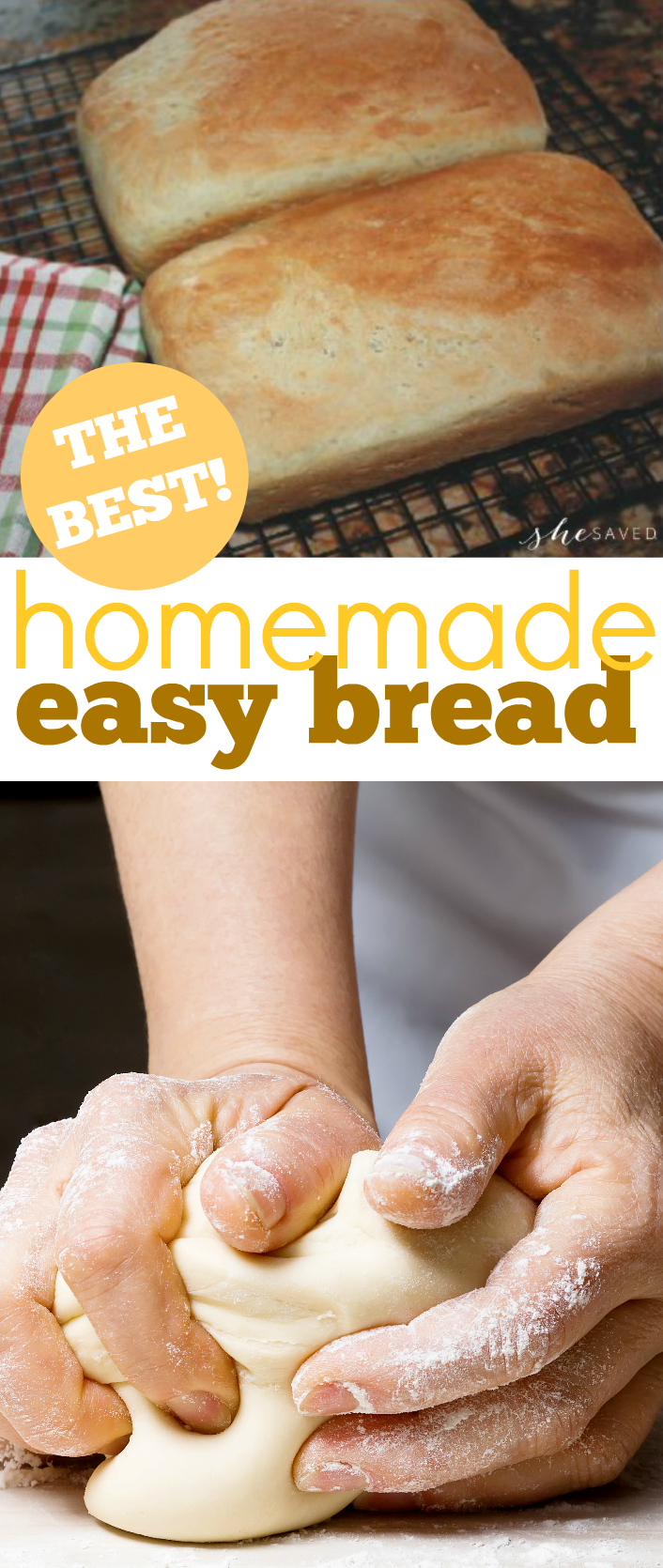 The very best homemade bread recipe