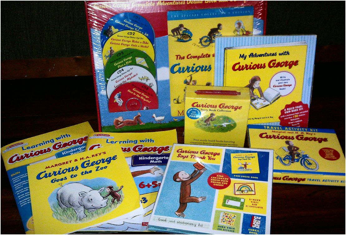 Winner, Winner, WINesday #1: Curious George App Review & (Awesome!) Prize Package Giveaway!