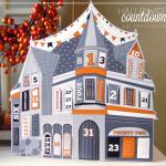 FREE Printable Halloween Countdown House