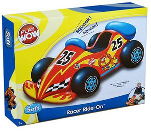 Winner, Winner, WINesday #1 | PlayWow Racer Ride-On Car Review and Giveaway