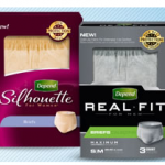 FREEbie Alert | FREE Depend Real Fit or Silhouette Underwear Sample
