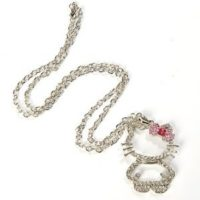 Hello Kitty Figure Necklace Pendant for $5.50 Shipped