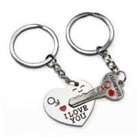 I Love You Heart Key Chain for $1.62 Shipped
