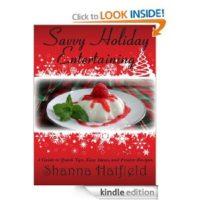 FREE Kindle Book: Savvy Holiday Entertaining