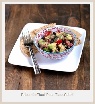 Winner, Winner, WINesday #5: Bumble Bee Balsamic Black Bean Tuna Salad with Avocado and Giveaway!
