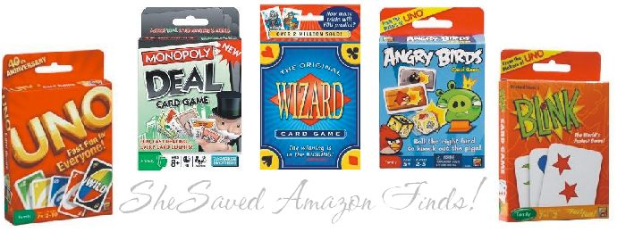 Amazon Card Game Deals SheSaved