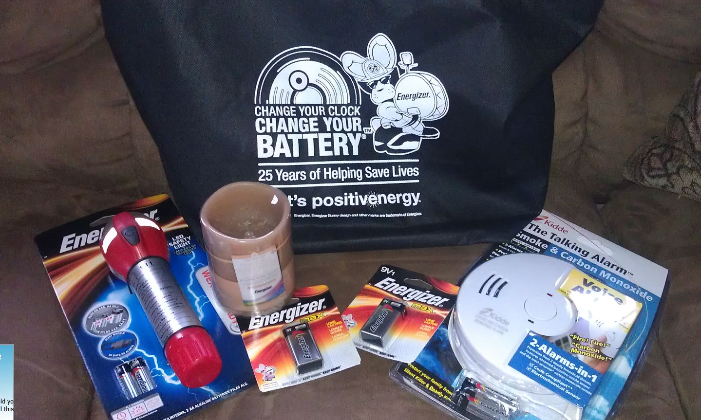 Winner, Winner, WINesday #2: Energizer Change Your Clock Change Your Batteries Giveaway Package!