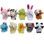 10pcs Velvet Animal Style Finger Puppets Set for $3.45 Shipped!