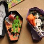 Free Printable Halloween Coffin Invitations