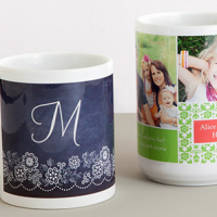 25% Off Custom Mugs at Tiny Prints