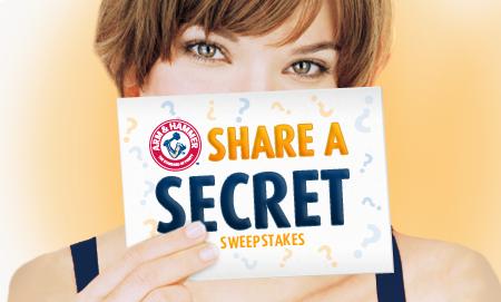 Share A Secret Sweepstakes