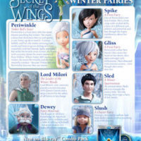 "Disney Movie Rewards | ""Secret of the Wings"" Meet the Fairies Activity Sheet"