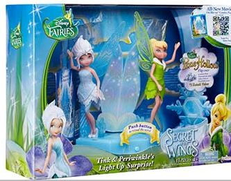 Winner, Winner, WINesday #6: JAKKS Secret of the Wings Disney Fairies Toy Review and Prize Package Giveaway!
