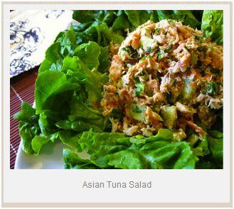 Winner, Winner, WINesday #4: Bumble Bee Tuna Asian Salad Recipe and Giveaway!