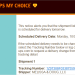 UPS My Choice: Love this FREE Service for Tracking Packages