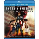 Captain America Blu-ray DVD Combo for $7.99 Shipped