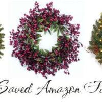 Christmas Wreath Deals on Amazon