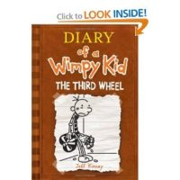 Diary of a Wimpy Kid Book 7 The Third Wheel for $4.99 Shipped