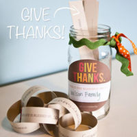 Gratitude Jar Printable Download