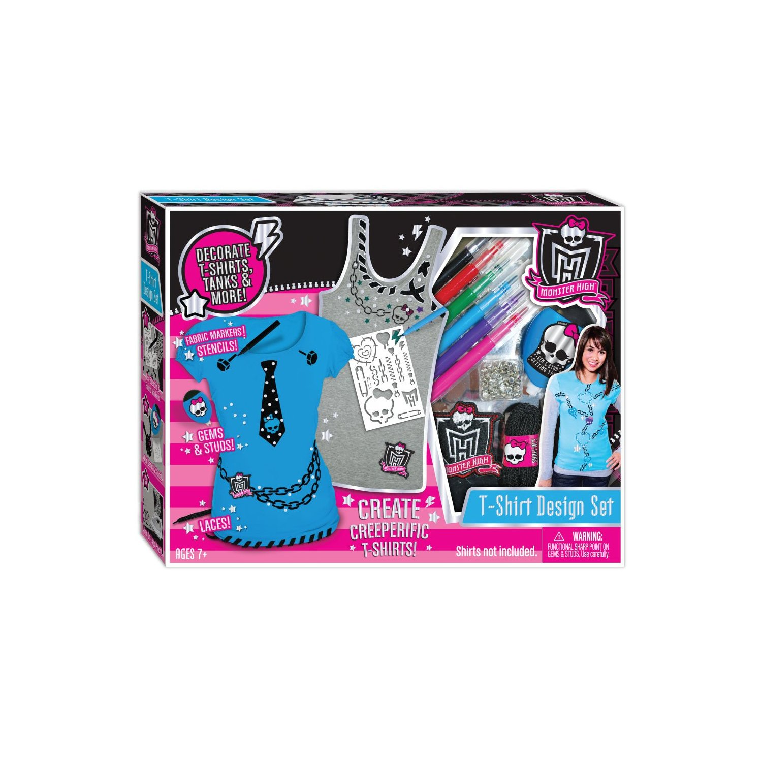 Monster High T-Shirt Design Kit