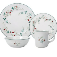 Pfaltzgraff Winterberry 16-Piece Dinnerware Set for $27.99 Shipped