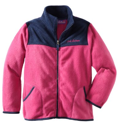 Pink Girls Fleece Jacket