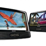 Portable Dual DVD Player for $149.98