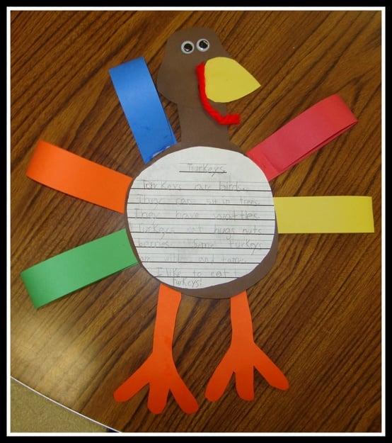 Thanksgiving Turkey Craft Pattern