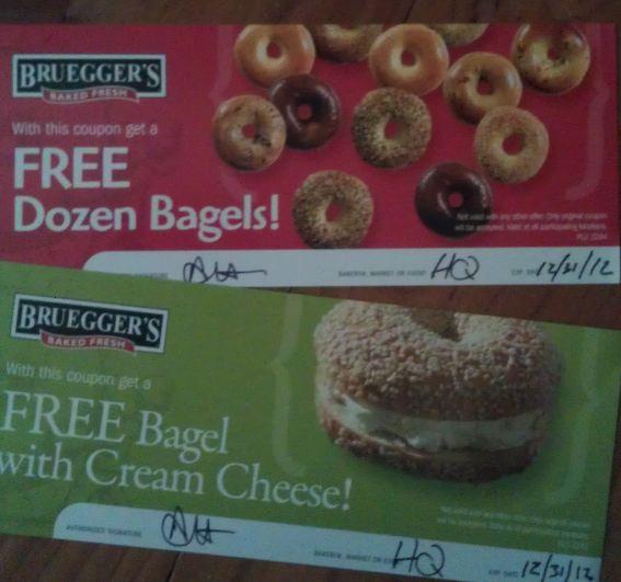 Winner, Winner, WINesday #5: Bruegger's Bagels Giveaway