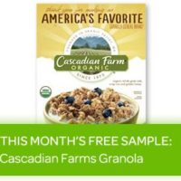 Free Sample of Cascadian Farm Organic Cereal