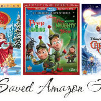 Amazon Deals Disney Christmas Movies