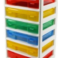 LEGO 6-Case Workstation and Storage Unit with 2 Base Plates on sale for $38.99 Shipped